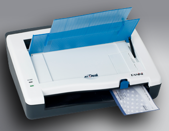 Scanner multiformato wI:Deal - assegno